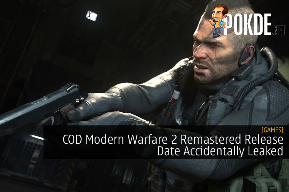 COD Modern Warfare 2 Remastered Release Date Accidentally Leaked