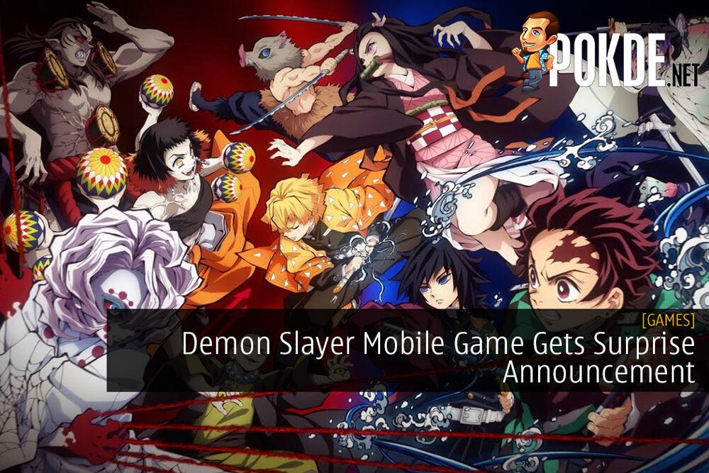 Demon Slayer Mobile Game Gets Surprise Announcement