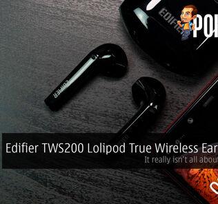 Edifier TWS200 Lolipod True Wireless Earphones Review — it really isn't all about the bass... 24