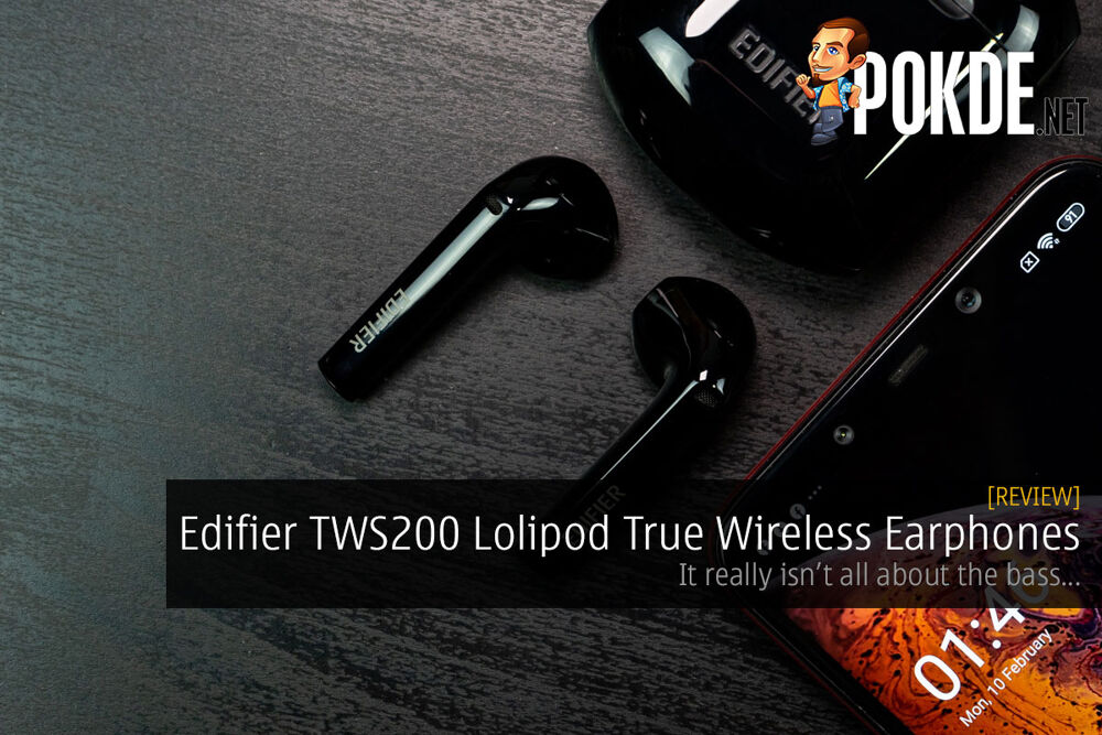 Edifier TWS200 Lolipod True Wireless Earphones Review — it really isn't all about the bass... 20