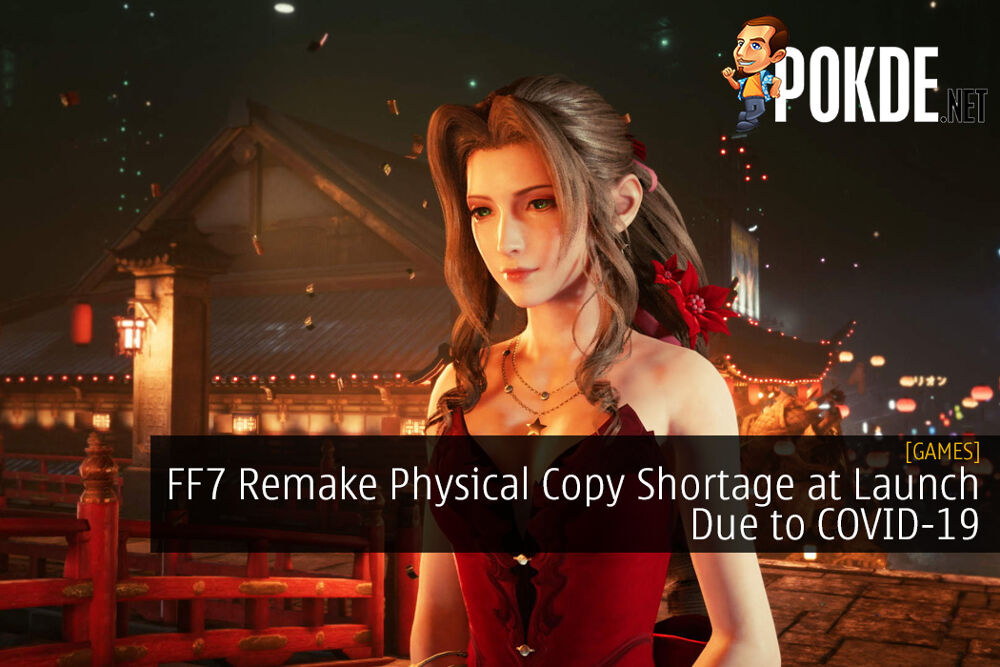 Final Fantasy 7 Remake Physical Copy Shortage at Launch Due to COVID-19 Pandemic