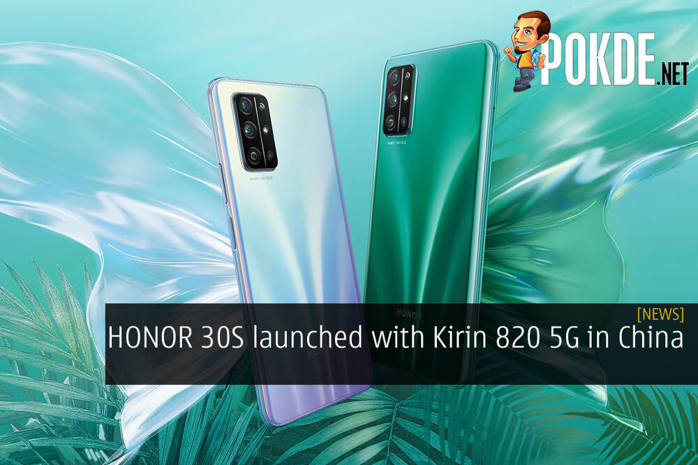HONOR 30S launched with Kirin 820 5G in China 29