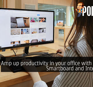 Amp up productivity in your office with the JOI Smartboard and Intel NUCs 40