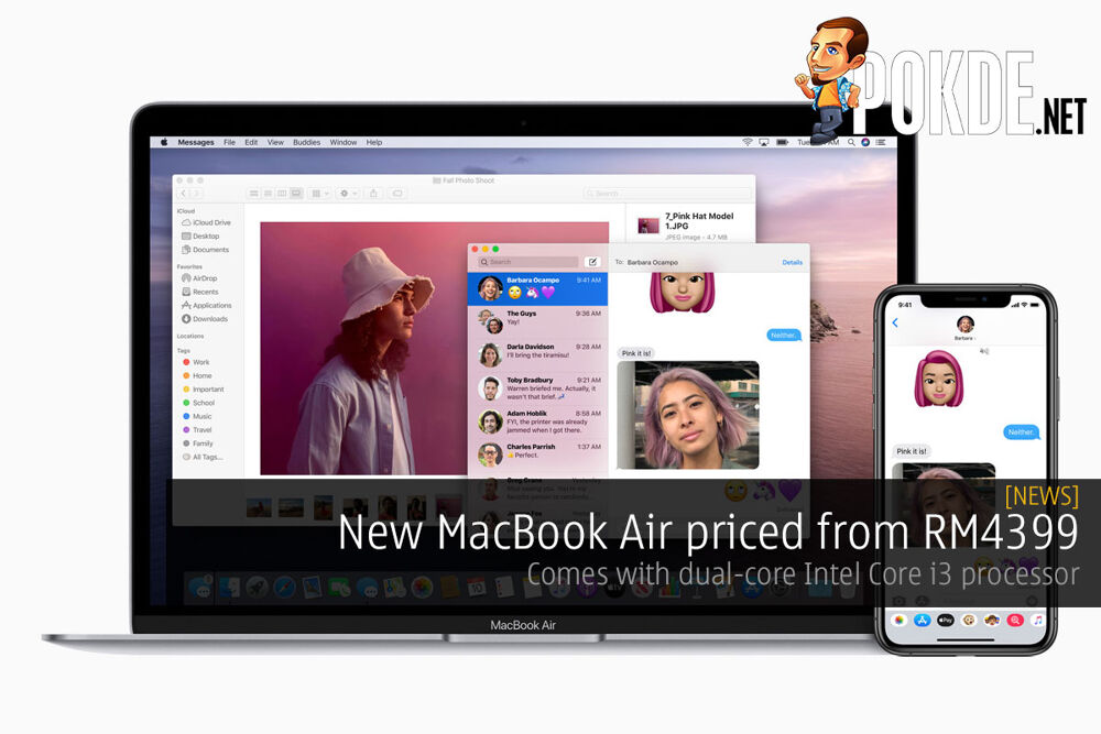 New MacBook Air priced from RM4399 — comes with dual-core Intel Core i3 processor 28