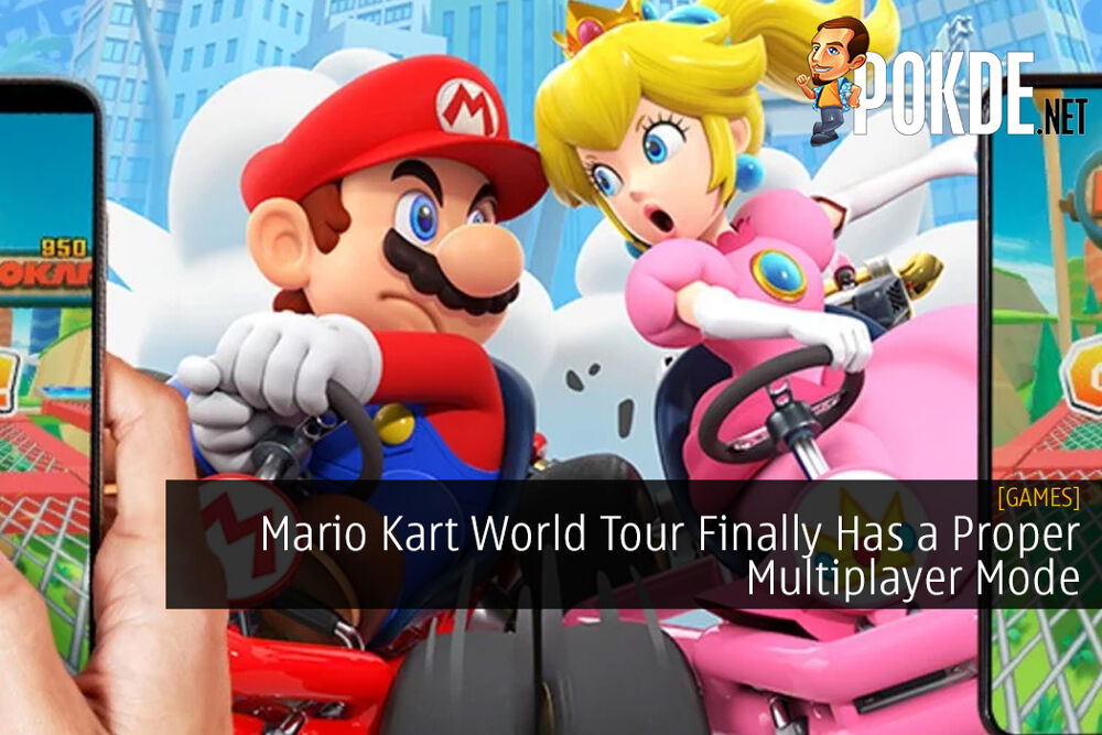 Mario Kart World Tour Finally Has a Proper Multiplayer Mode
