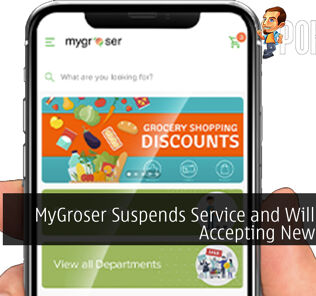 MyGroser Suspends Service and Will Not Be Accepting New Orders