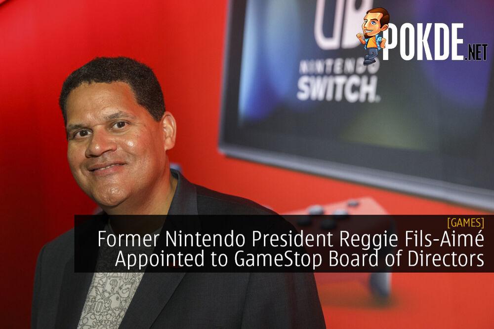 Former Nintendo President Reggie Fils-Aimé Appointed to GameStop Board of Directors