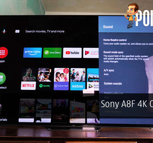 Sony A8F 4K OLED TV Review - Good for Gaming, Great for Netflix