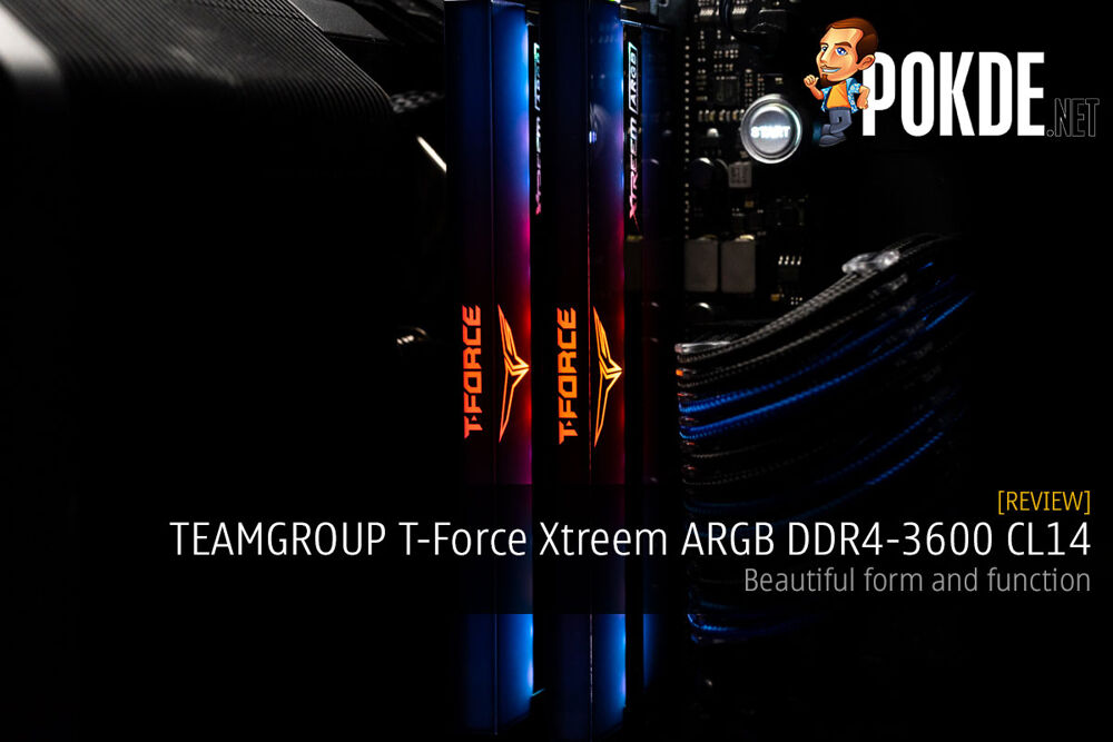 TEAMGROUP T-Force Xtreem ARGB DDR4-3600 CL14 Memory Review — beautiful form and function 23