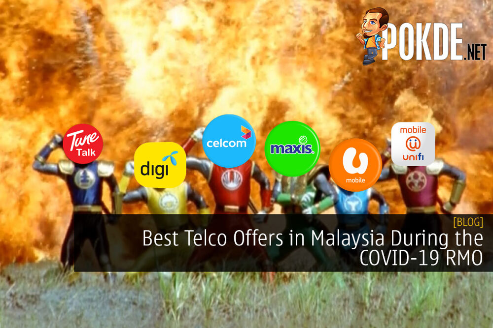 Best Telco Offers in Malaysia During the COVID-19 Restricted Movement Order