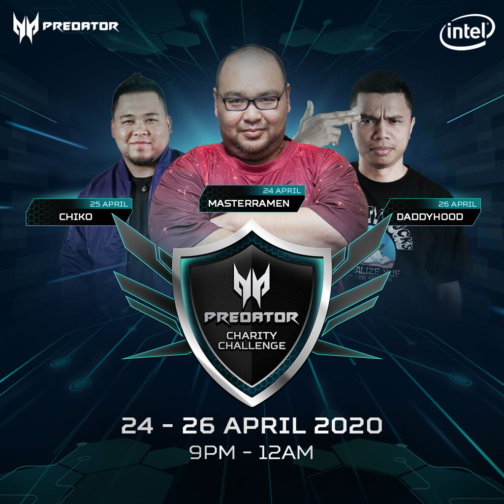 Acer Predator Charity Challenge Aims to Raise Up To RM15,000 for the Underprivileged During MCO 24
