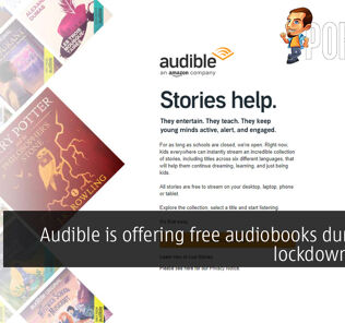 Audible is offering free audiobooks during the lockdown period 23