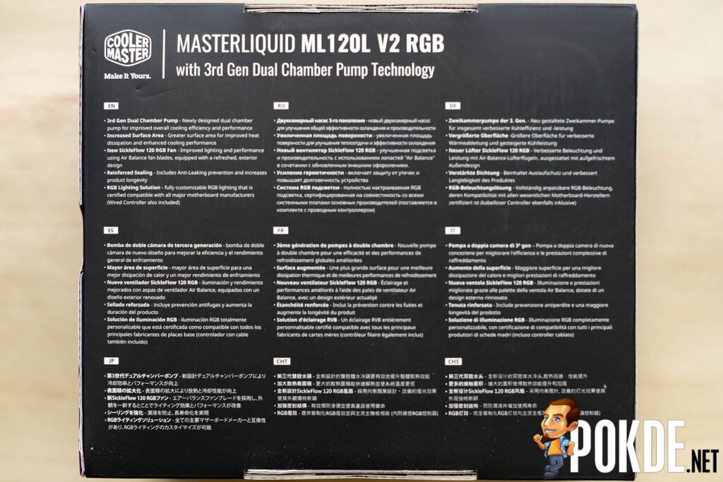 MasterLiquid ML120L V2 RGB Review — extra performance at no extra cost 26