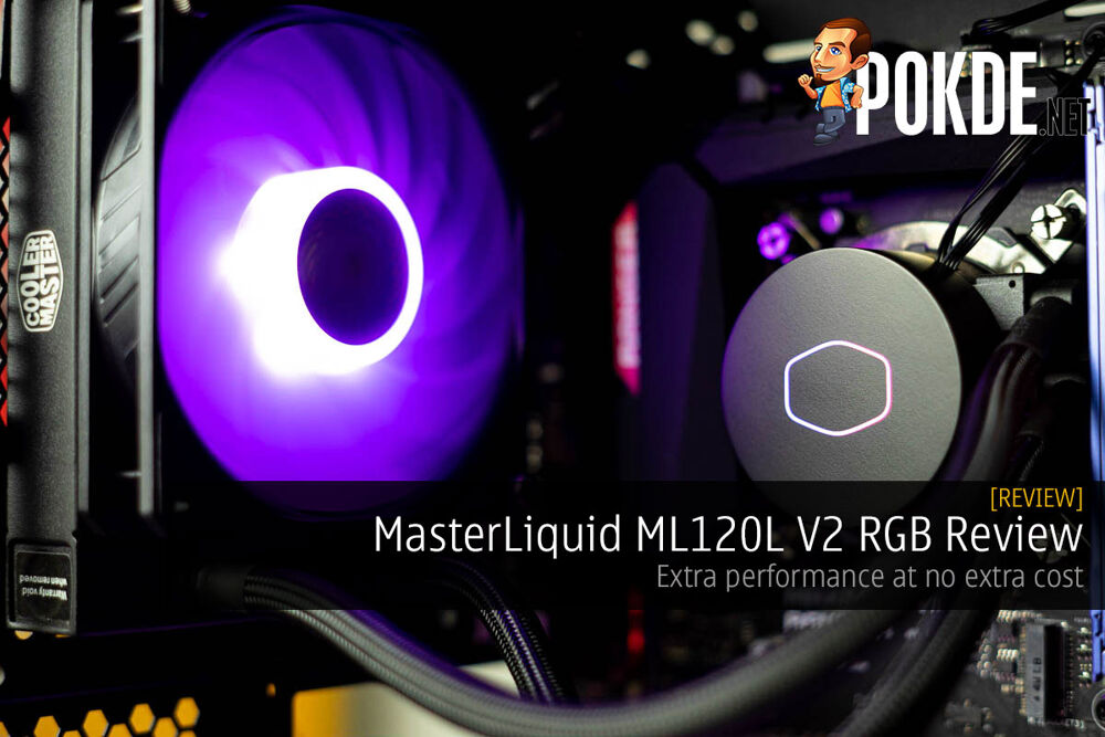 MasterLiquid ML120L V2 RGB Review — extra performance at no extra cost 32