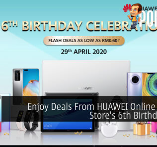 Enjoy Deals From HUAWEI Online Official Store's 6th Birthday Sale 28