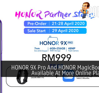 HONOR 9X Pro And HONOR MagicBook Now Available At More Online Platforms 21