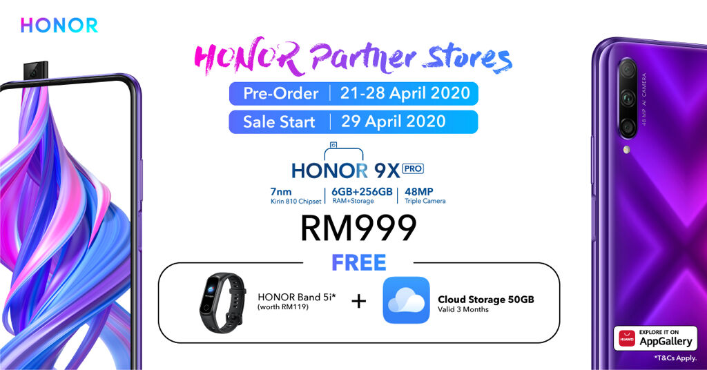 HONOR 9X Pro And HONOR MagicBook Now Available At More Online Platforms 20