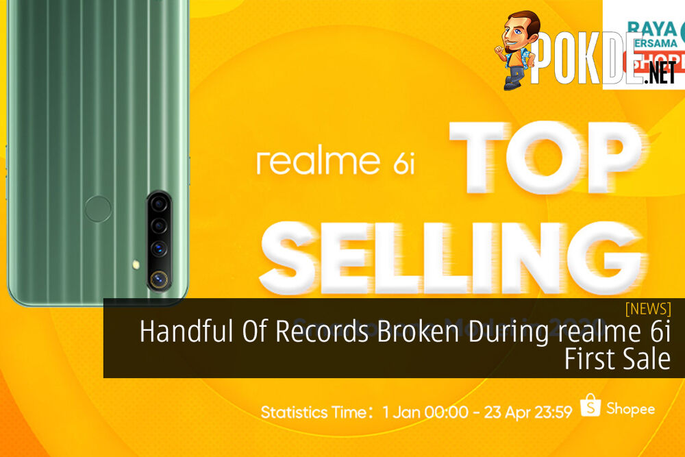 Handful Of Records Broken During realme 6i First Sale 20
