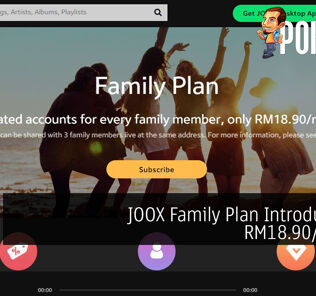 JOOX Family Plan Introduced At RM18.90/month 28