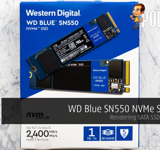 WD Blue SN550 NVMe SSD 1TB Review — rendering SATA SSDs irrelevant 23