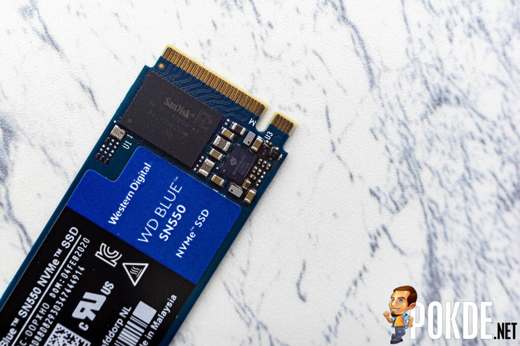 WD Blue SN550 NVMe SSD 1TB Review — rendering SATA SSDs irrelevant 19