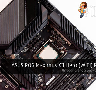 ASUS ROG Maximus XII Hero (WiFi) Preview — unboxing and a peek at the VRMs 30