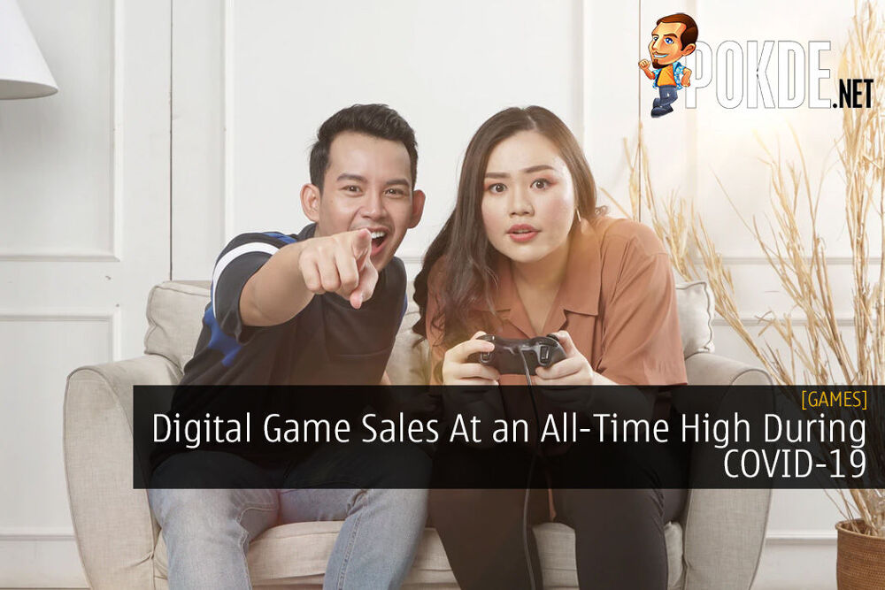 Digital Game Sales At an All-Time High During COVID-19