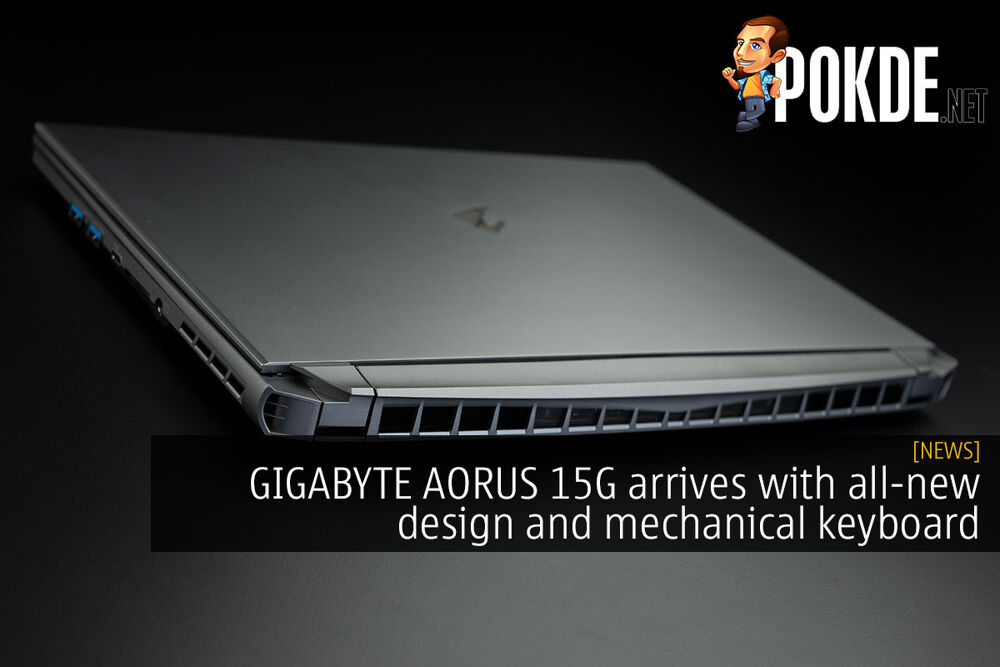 GIGABYTE AORUS 15G arrives with all-new design and mechanical keyboard 29