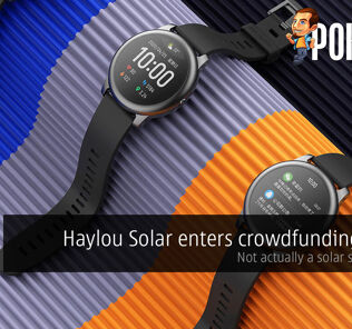 Haylou Solar enters crowdfunding stage — not actually a solar smartwatch 28