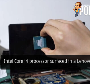 Intel Core i4 processor surfaced in a Lenovo laptop 21