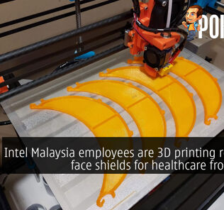 Intel Malaysia employees are 3D printing reusable face shields for healthcare frontliners 22