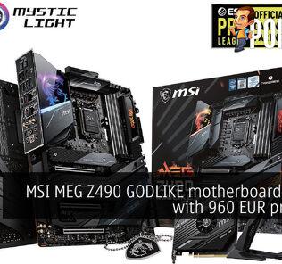 MSI MEG Z490 GODLIKE motherboard leaked with 960 EUR price tag 31