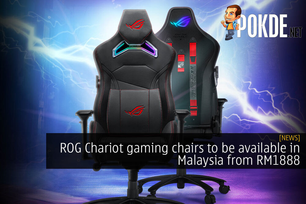 ROG Chariot gaming chairs to be available in Malaysia from RM1888 24