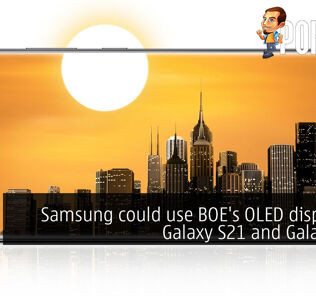 Samsung could use BOE's OLED displays in Galaxy S21 and Galaxy A91 24