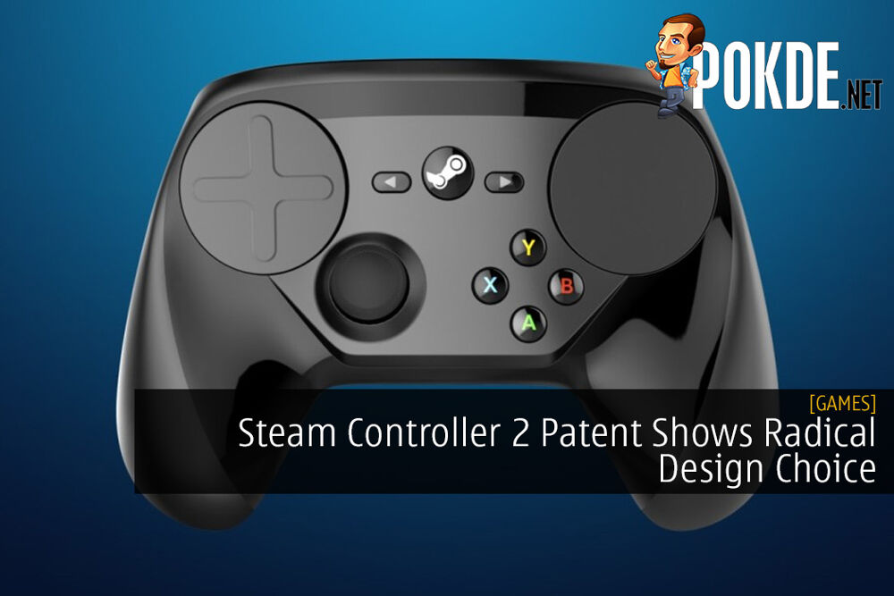 Steam Controller 2 Patent Shows Radical Design Choice