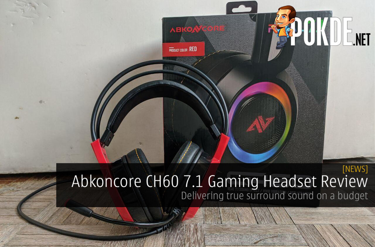 Abkoncore CH60 7.1 Gaming Headset Review - Delivering true surround sound on a budget 7
