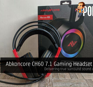 Abkoncore CH60 7.1 Gaming Headset Review - Delivering true surround sound on a budget 29