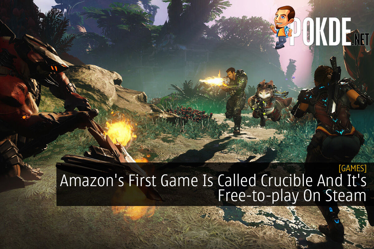Amazon's First Game Is Called Crucible And It's Free-to-play On Steam 6
