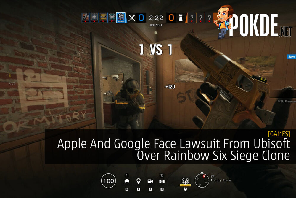 Apple And Google Face Lawsuit From Ubisoft Over Rainbow Six Siege Clone 20