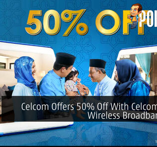 Celcom Offers 50% Off With Celcom Home Wireless Broadband Plan 25