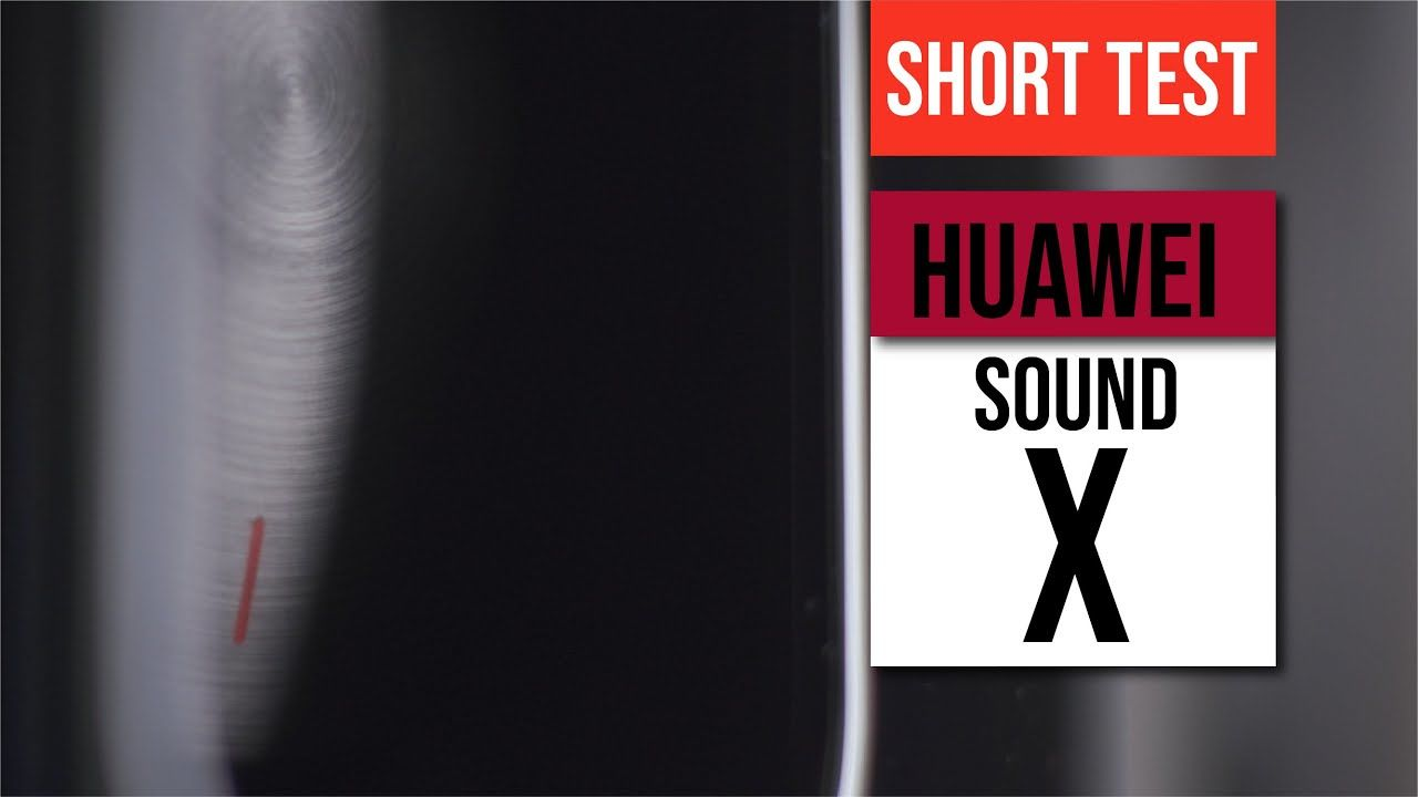 Huawei Sound X Sound Demo Test - Experience the speaker Huawei co-engineer with Devialet 16