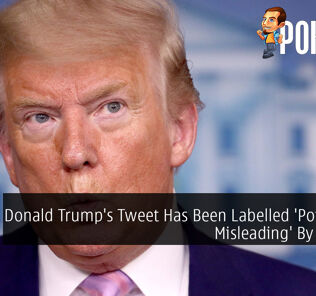 Donald Trump's Tweet Has Been Labelled 'Potentially Misleading' By Twittter 27