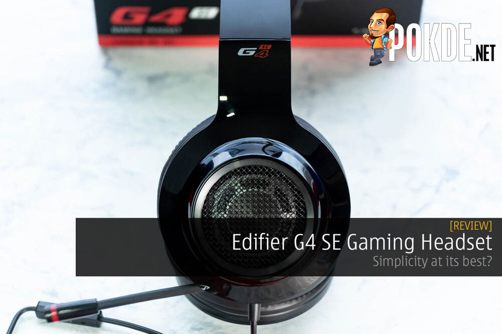 Edifier G4 SE Gaming Headset Review — simplicity at its best? 19