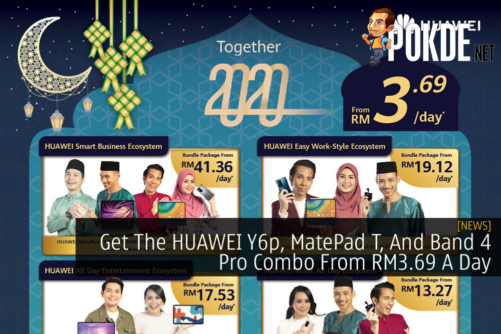 Get The HUAWEI Y6p, MatePad T, And Band 4 Pro Combo From RM3.69 A Day 20
