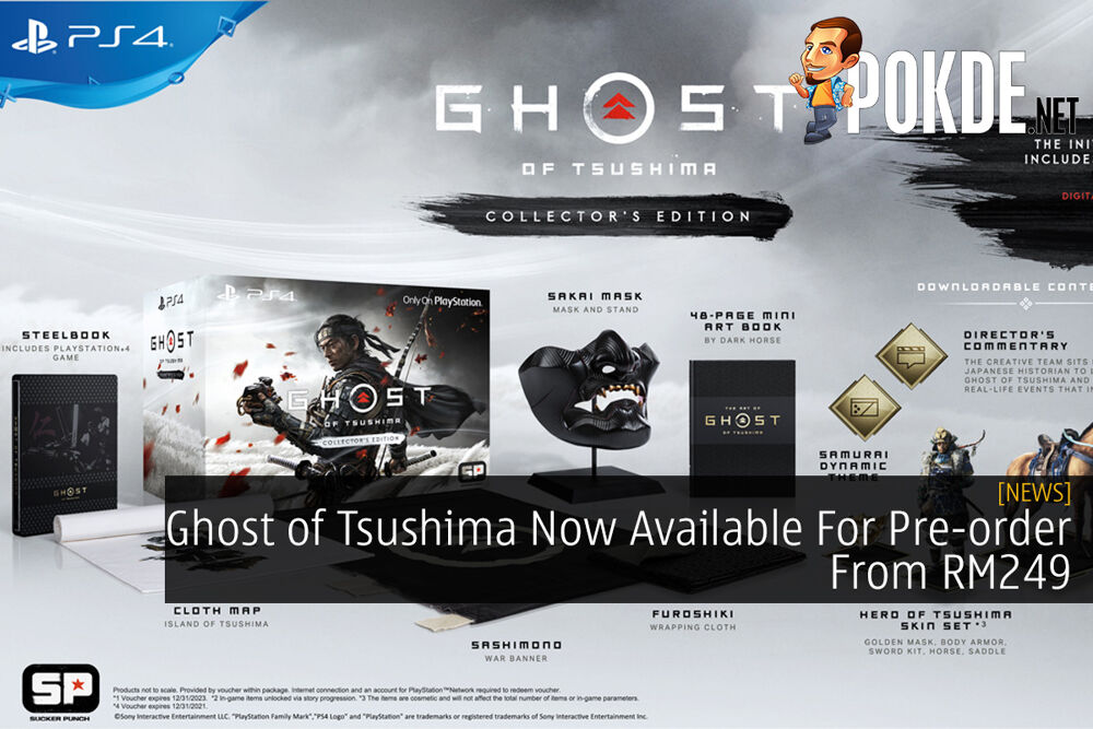 Ghost of Tsushima Now Available For Pre-order From RM249 26