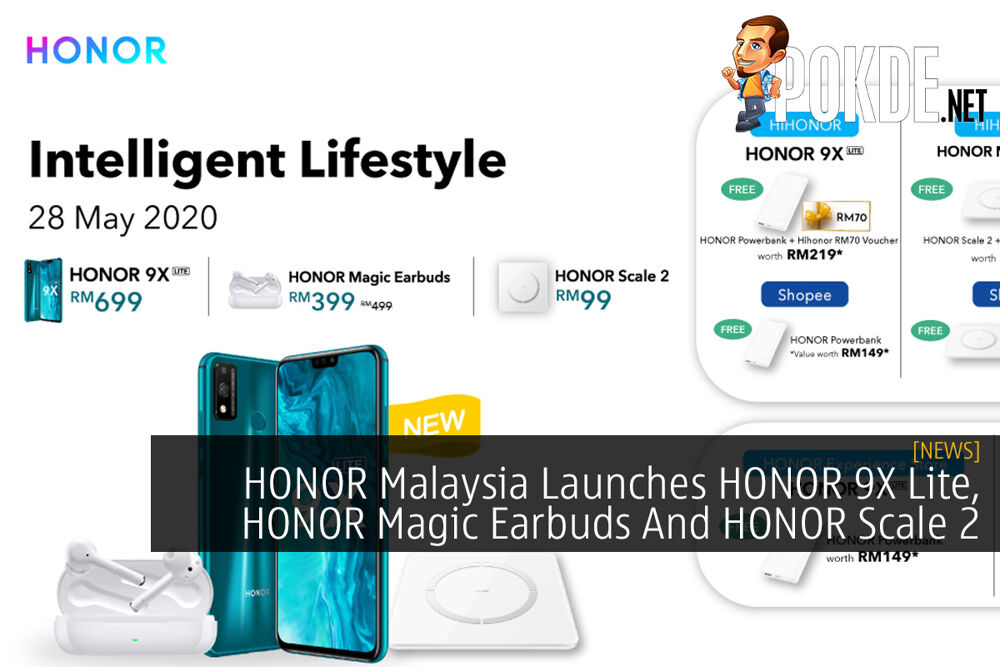 HONOR Malaysia Launches HONOR 9X Lite, HONOR Magic Earbuds And HONOR Scale 2 32