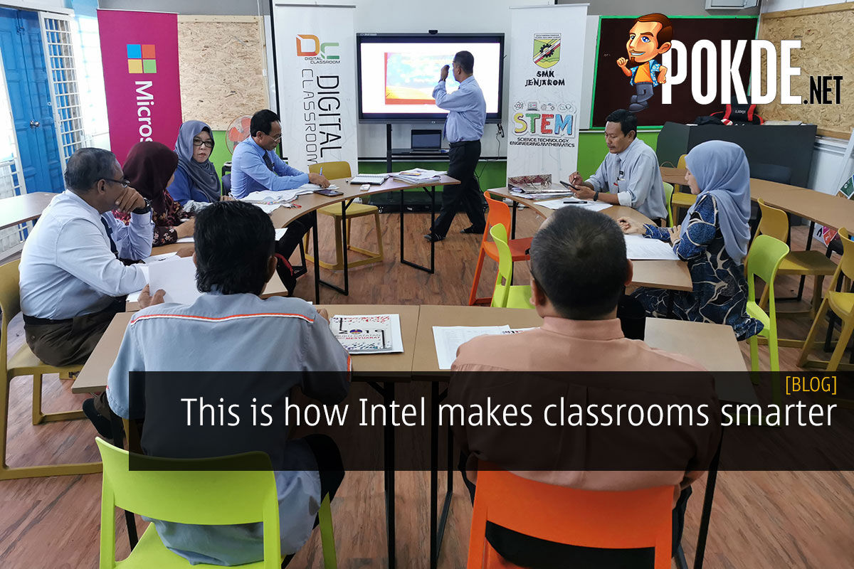 This is how Intel® makes classrooms smarter 8