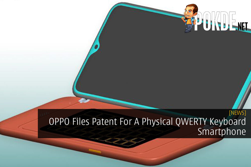 OPPO Files Patent For A Physical QWERTY Keyboard Smartphone 20