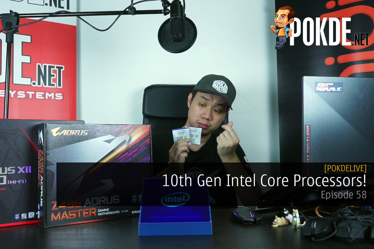 PokdeLIVE 58 — 10th Gen Intel Core Processors! 12