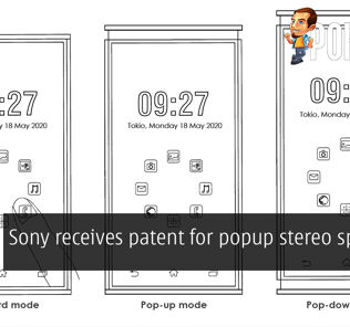 Sony receives patent for popup stereo speakers 31